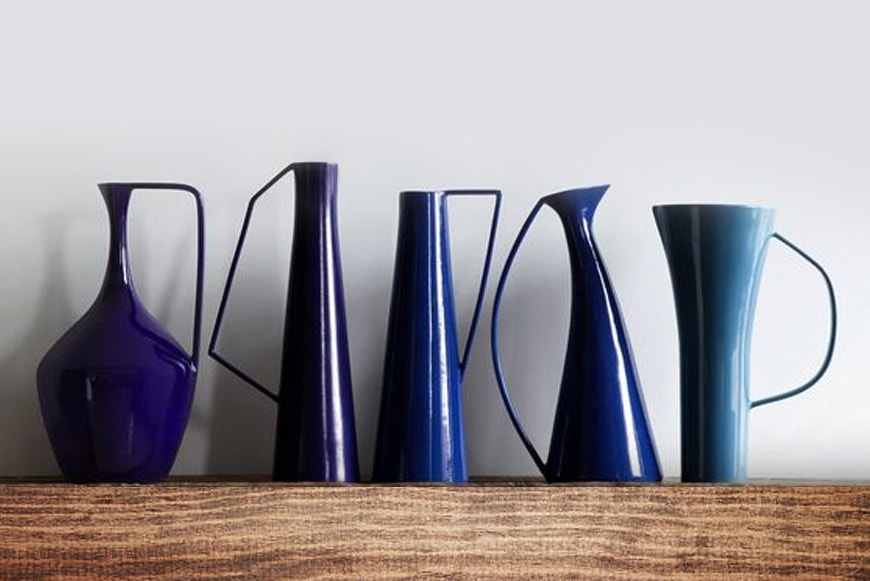 Indigo the new hue in Living Spaces!!