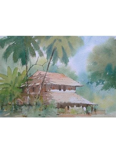konkan house paintings online | paper painting |Cubspaces