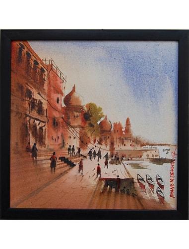 banaras ghat paintings online