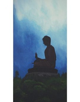 online buddha peace painting | cubspaces