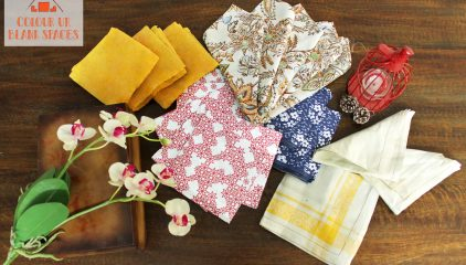 Table Napkins: Stack them pretty