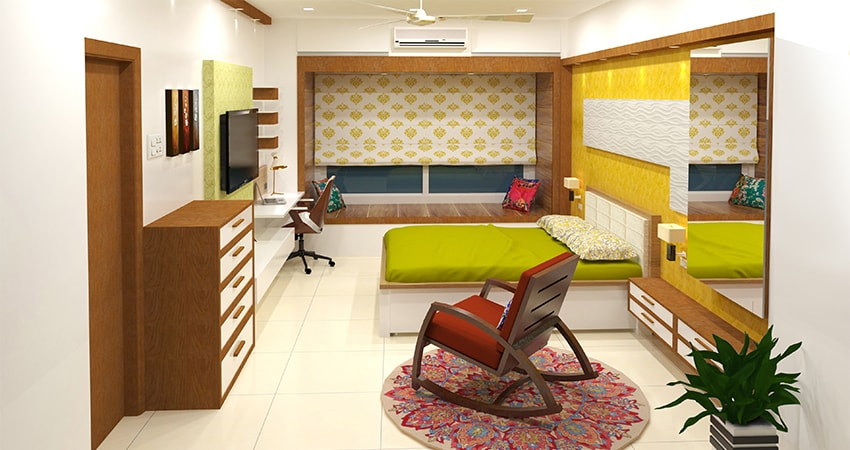 design bedroom online | Cubspaces