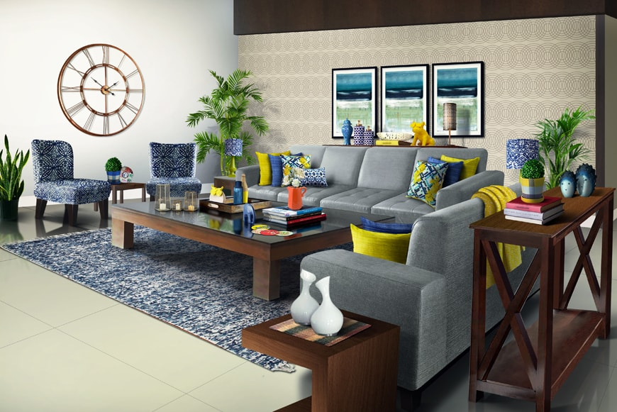 CUBS Design stories: 10 steps to refresh a living room from Drab to Fab