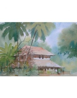 konkan house paintings online | paper painting |Cubspaces