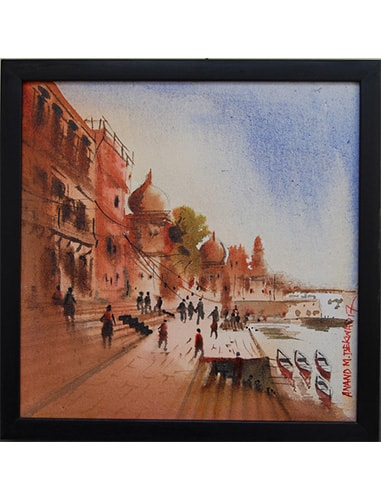 banaras ghat paintings online