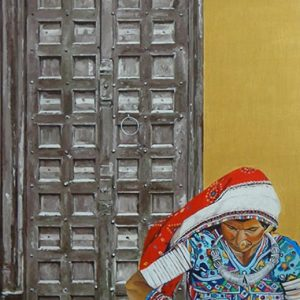 village life canvas paintings online   Cubspaces
