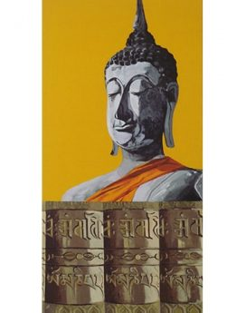 Indian prayer painting online| artwork online cubspaces