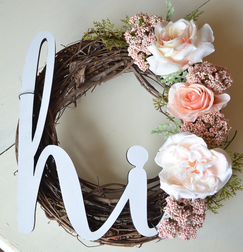 Inviting Floral Wreath