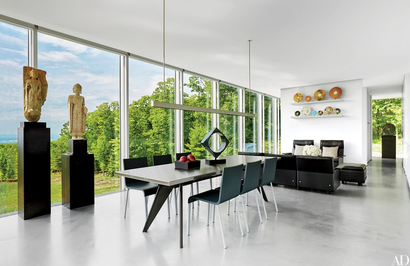 Contemporary dining room - Clean Dining room - dining room ideas -