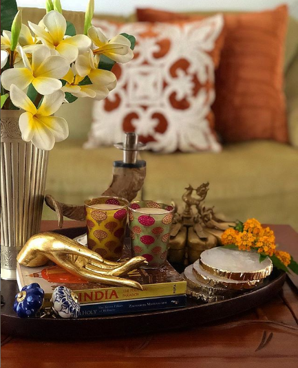 Coffee Table Decor - Indian Coffee table decor ideas - indian decor ideas - Indian Living Room
