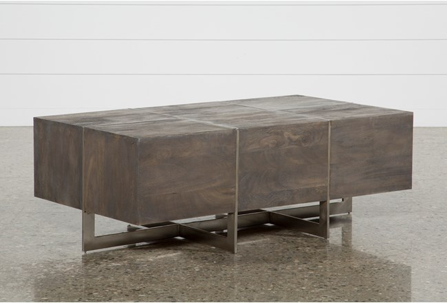 Living Spaces - Cocktail Table - Coffee Table - Axis Table - Living Room Design