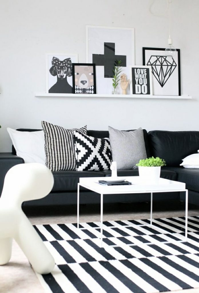 Black interior - black accents - Black Decor
