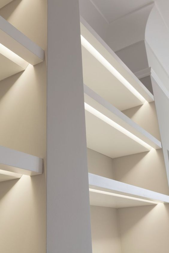 Wardrobe Lighting - Cabinet Lighting - LED for cupboard - Lit cupboard - walk-in-wardrobe