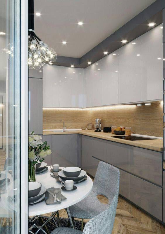 Kitchen - contemporary - kitchen - kitchen design - kitchen lighting