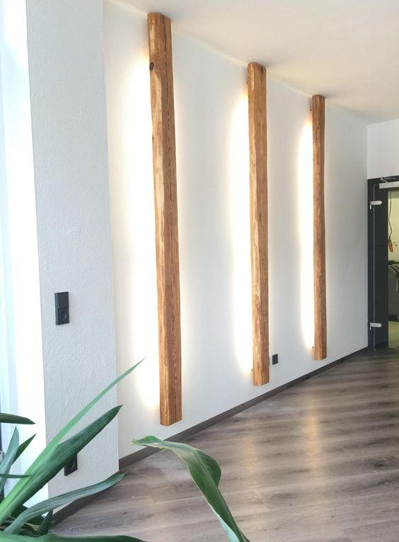 Accent light - Passage Light - light design - Reclaimed Wood Design - vertical light